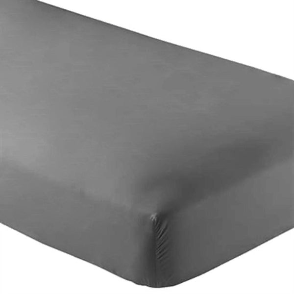 Bare Home, fitted sheet, sheet, sheets, microfiber sheets, microfiber, deep pocket, hypoallergenic, wrinkle resistant, twin sheets, twin xl sheets, twin extra long sheets, full sheets, full xl sheets, queen sheets, king sheets, california king sheets, bed sheets, bedding, bedroom, grey fitted sheet, 2 pack