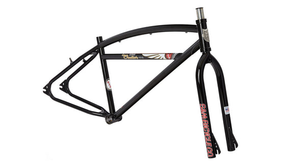 S&M COVID Cruiser Bicycle Frameset