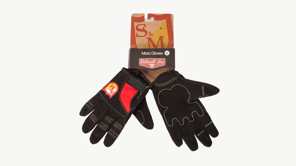 S&M x Biltwell Shield BMX Riding Gloves