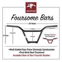 Animal Foursome Bars