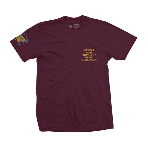 A&P Against Chaos Tee (Burgundy)