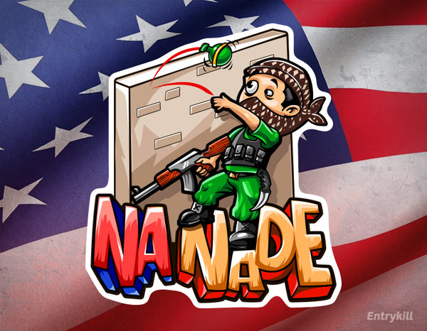 NA Nade Sticker (CS:GO Dope Series 2)