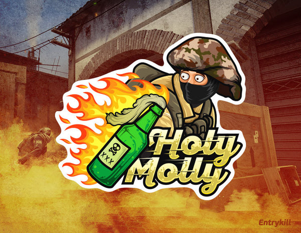 Holy Molly Sticker (CS:GO Dope Series 1)
