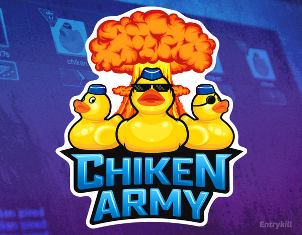 Chiken Army Sticker (CS:GO Dope Series 1)