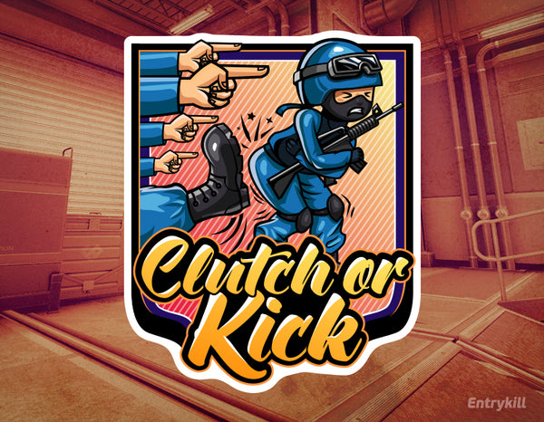 Clutch or Kick Sticker (CS:GO Dope Series 2)