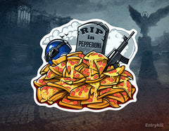 RIP in Pepperoni Sticker (CS:GO Dope Series 2)
