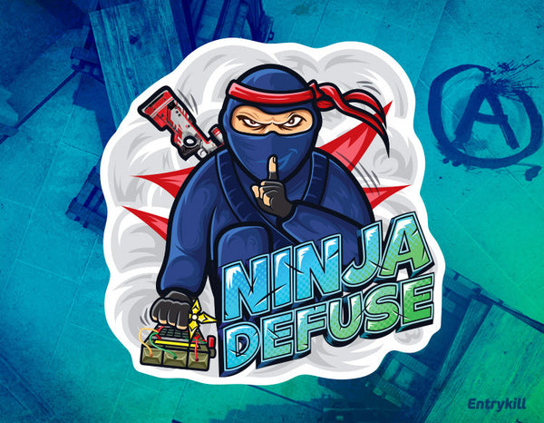 Ninja Defuse Sticker (CS:GO Dope Series 1)