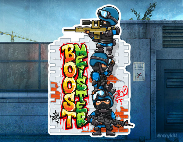Boostmeister Sticker (CS:GO Dope Series 1)
