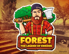 Forest - The Legend of Sweden Sticker (CS:GO Dope Series 1)