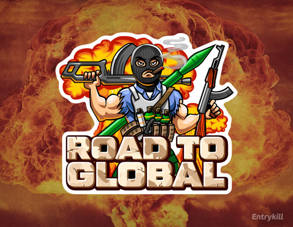 Road to Global Sticker (CS:GO Dope Series 2)