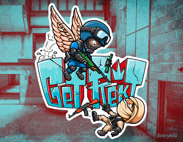 Get Rekt Sticker (CS:GO Dope Series 1)