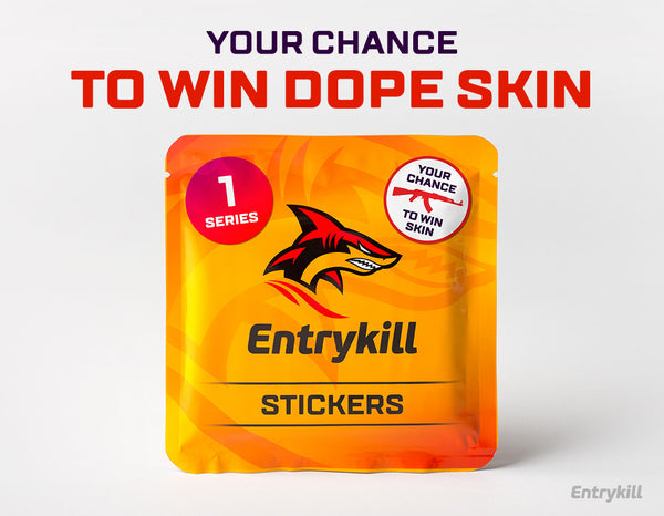 CS:GO Dope Stickers: Series 1 (15 pack) + Dope CS:GO Skin *