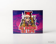 EZ SKINS EZ LIFE Sticker (CS:GO Dope Series 1)