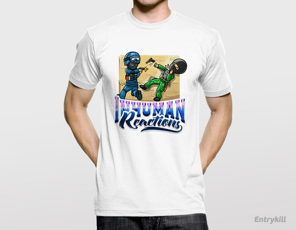 Inhuman Reactions T-Shirt (CS:GO Dope Series 2)