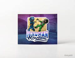 Inhuman Reactions Sticker (CS:GO Dope Series 2)