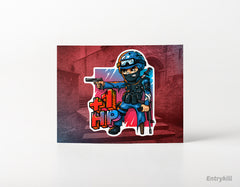 1HP Sticker (CS:GO Dope Series 2)