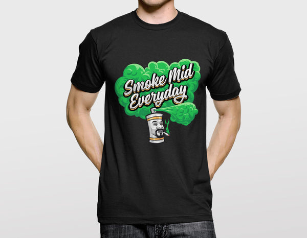 Smoke Mid Everyday T-Shirt (CS:GO Dope Series 1)