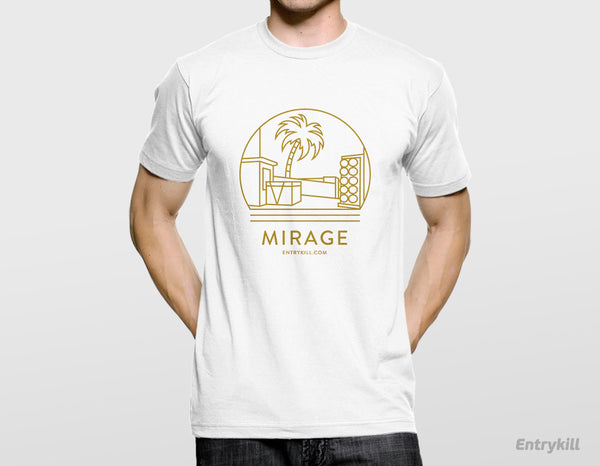 Mirage Gold Foil T-Shirt (Maps Collection)
