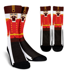 Funny Nutcracker Sublimated Crew Socks
