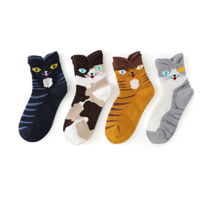 Wild Cat Women's Ankle Socks - UPKIWI