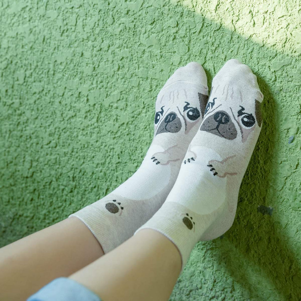 Cartoon Dog Breed Socks - UPKIWI