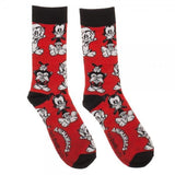 Animaniacs Mens Crew Socks Gift Set- 3 Pairs Pack