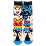 DC Comics Wonder Woman's 360 Crew Socks - - UPKIWI