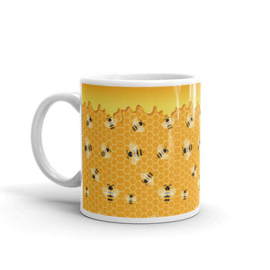 Honey Bee Coffe Mug - UPKIWI
