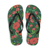 Floral Meadow Sublimation Flip-Flops