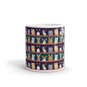 Cat Portrait Coffee Mug - - UPKIWI