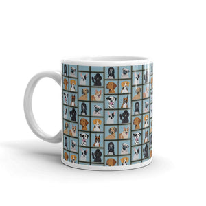 Dog Portrait Coffee Mug - - UPKIWI