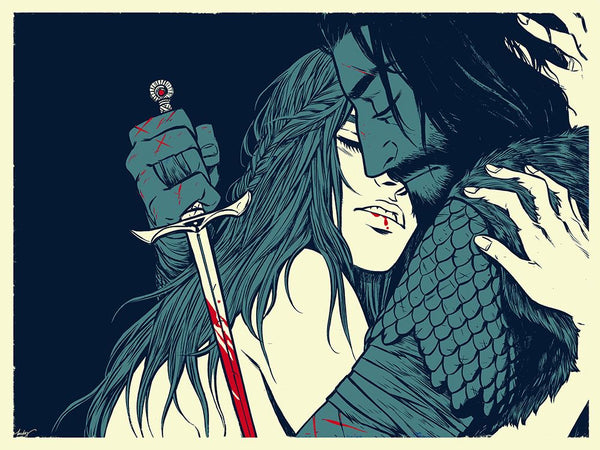 """As Always She Is Waiting"" Print by Becky Cloonan"