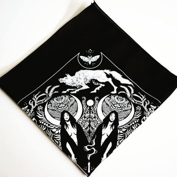 She-Wolf Bandana By Becky Cloonan Everything Else