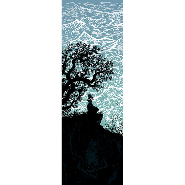 Sea (Large) Roadburn Flag by Becky Cloonan