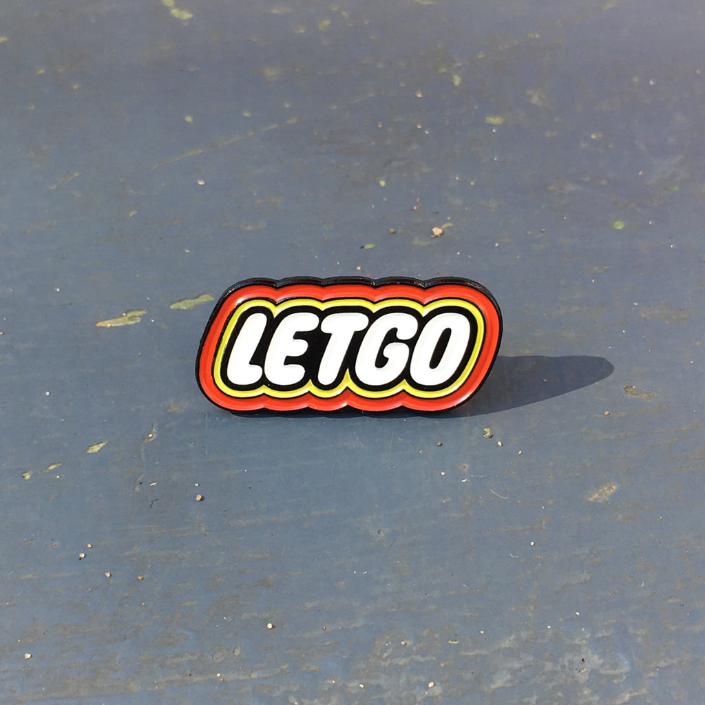 LETGO Enamel Pin by Matthew Woodson