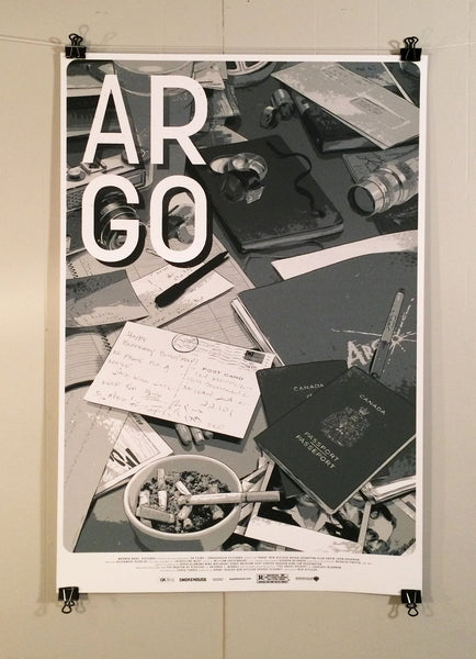 Argo By Matthew Woodson Poster