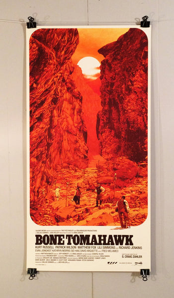 Bone Tomahawk By Matthew Woodson Poster