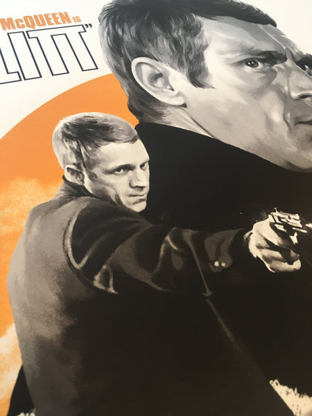 Bullitt By Matthew Woodson Poster