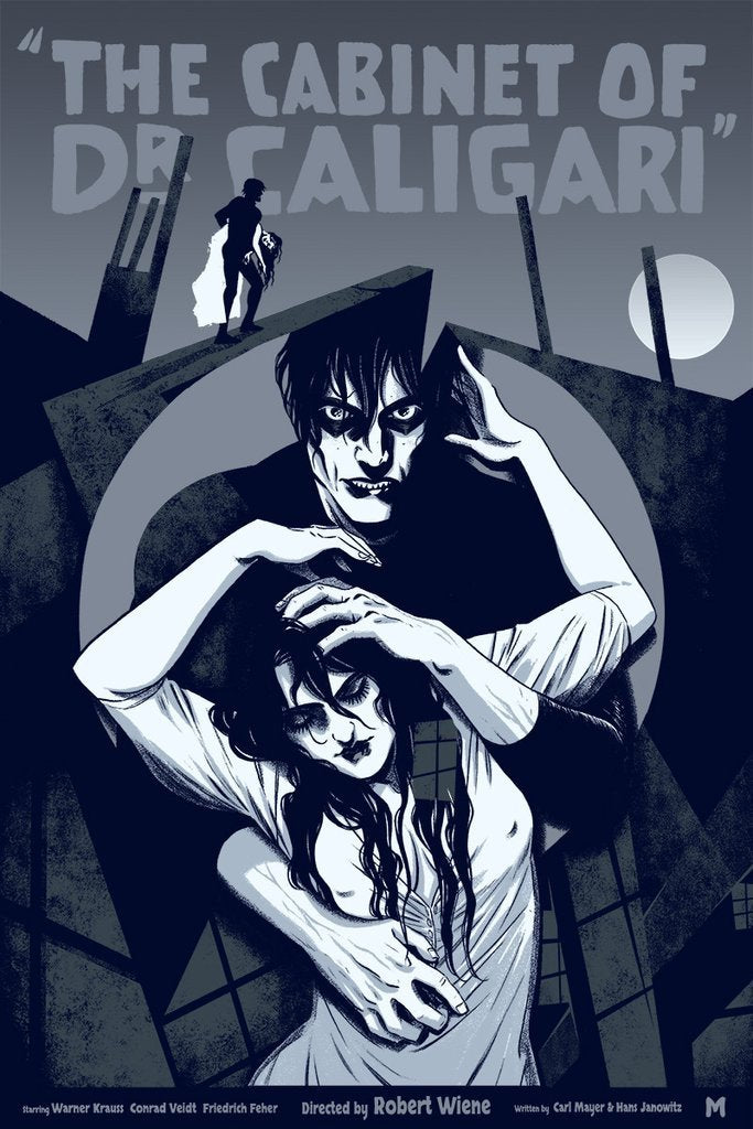 The Cabinet of Dr. Caligari by Becky Cloonan