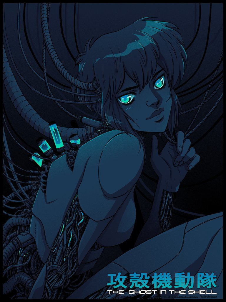 Ghost in the Shell (Variant) by Becky Cloonan