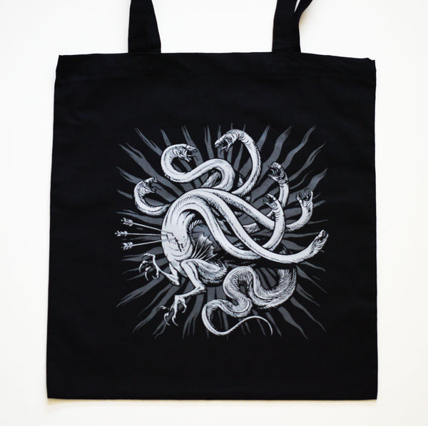 Hydra Tote Bag by Becky Cloonan