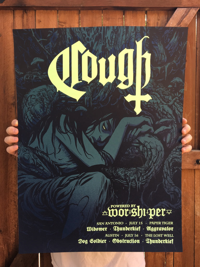 Cough - Glow Edition by Becky Cloonan