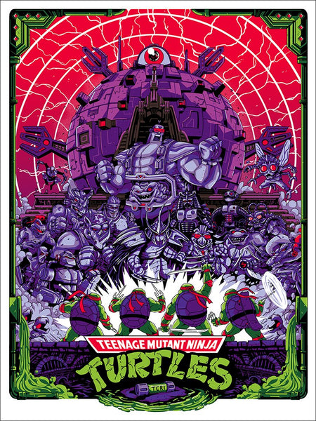 Technodrome By Shane Hillman