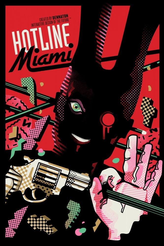 Hotline Miami By We Buy Your Kids Poster