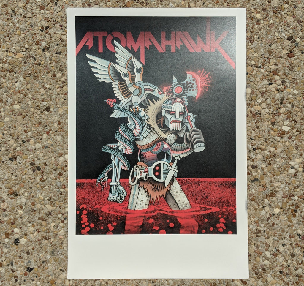 Atomahawk By Ian Bederman Poster