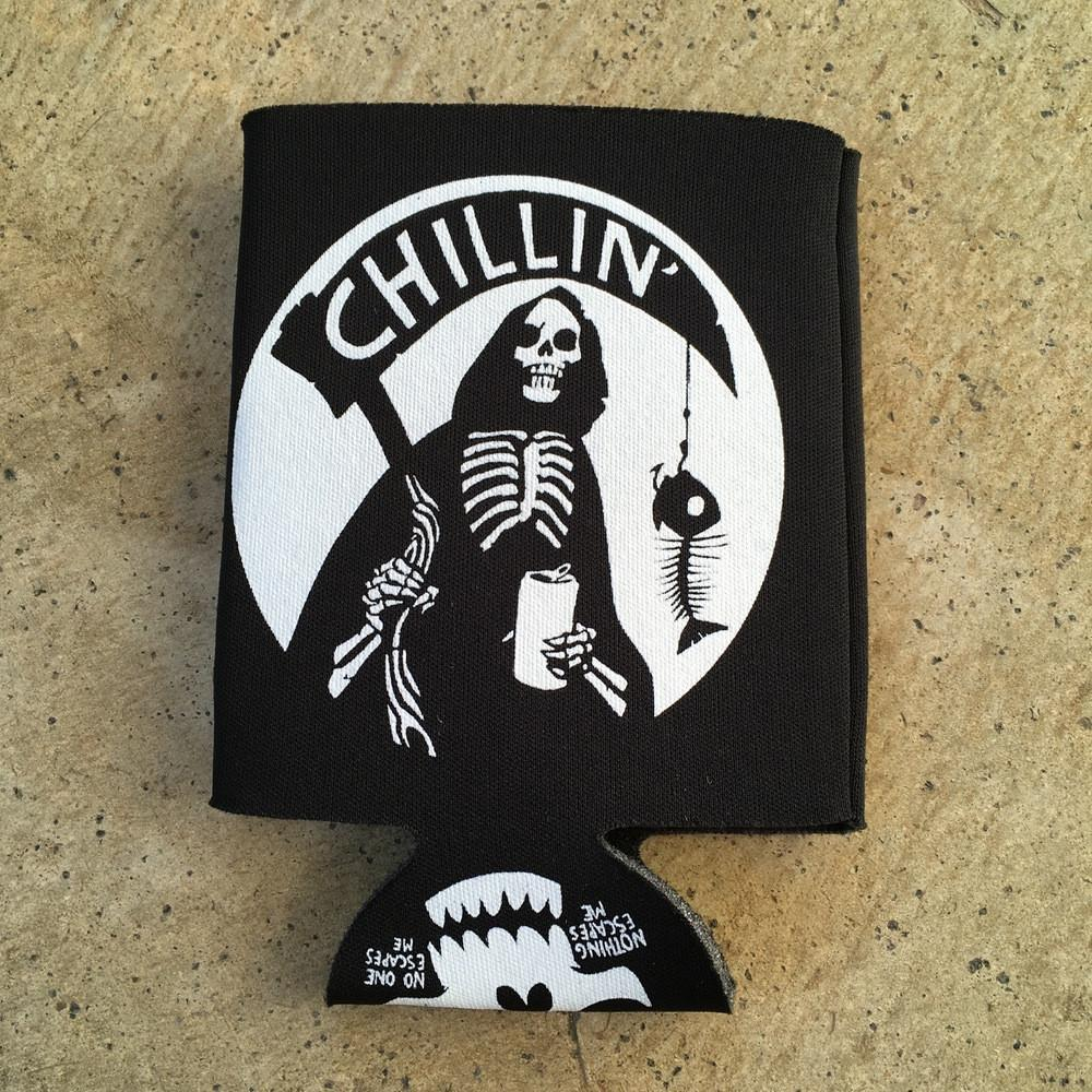 Chillin' Koozie by Becky Cloonan