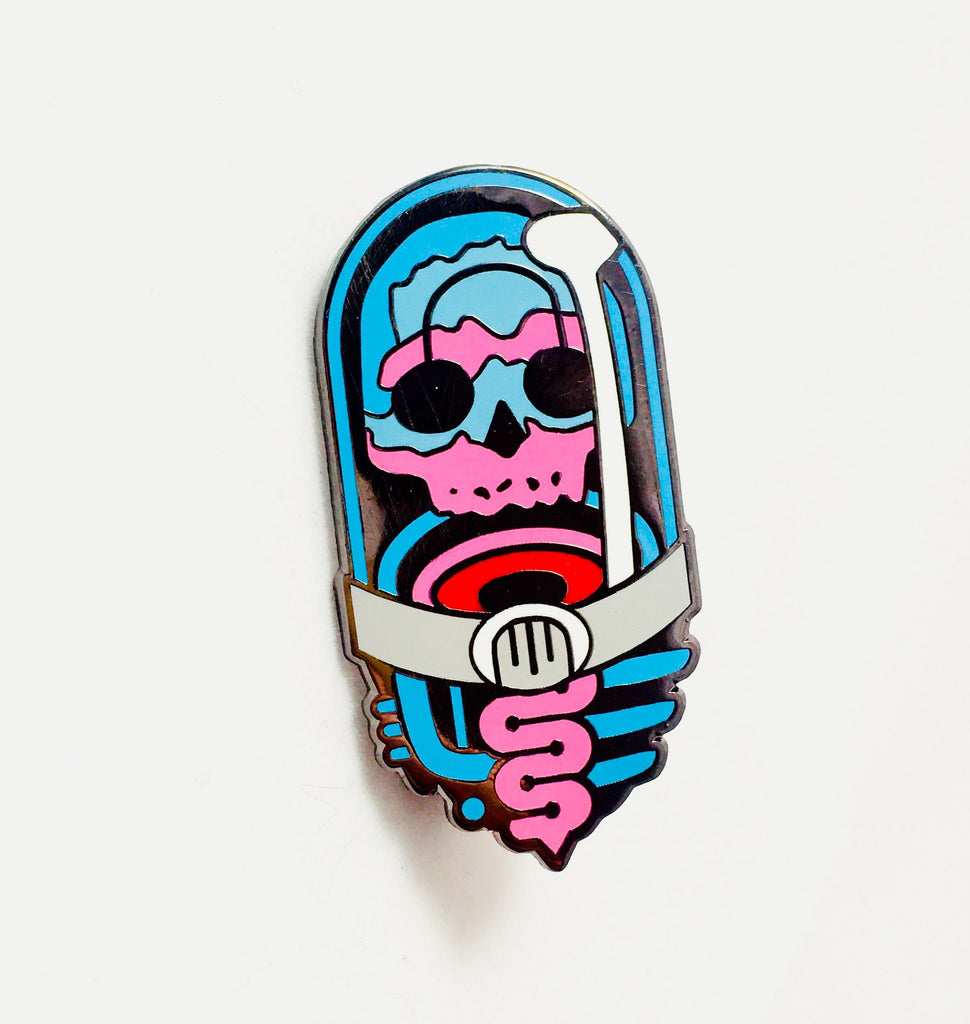 Wonky Tiger X Luxcups Creative Pin By Ian Bederman