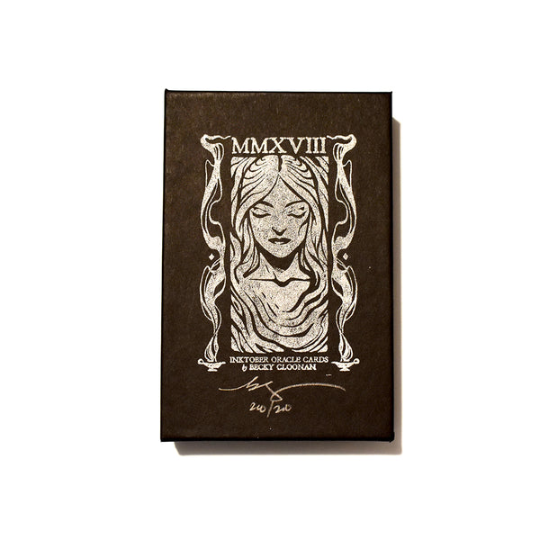 MMXVIII Inktober Oracle Deck by Becky Cloonan