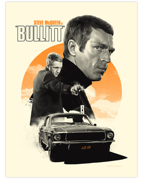 BULLITT Print by Matthew Woodson