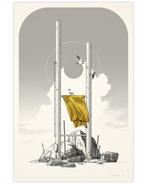 LCM-004A Print by Matthew Woodson